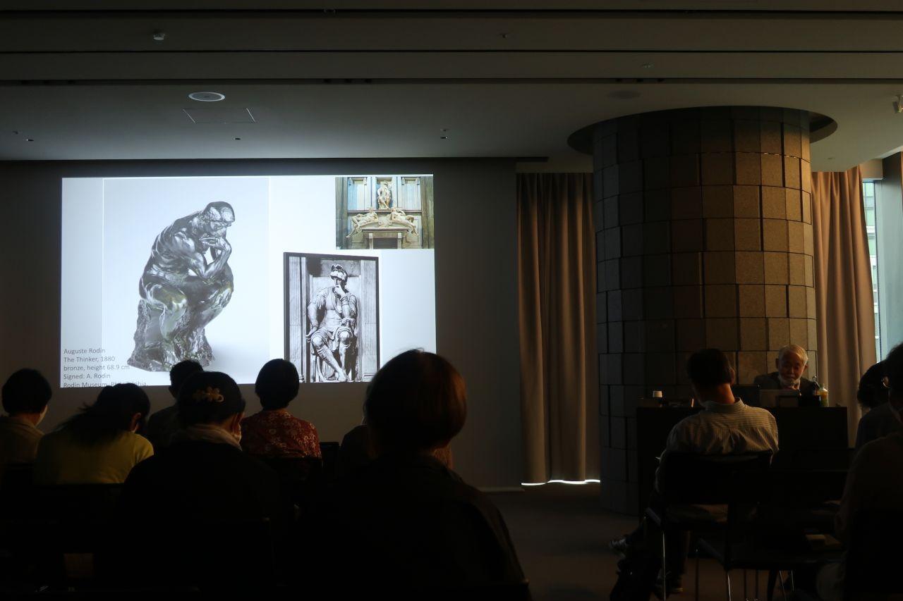土曜講座:地中海学会連続講演会「アーティゾン美術館コレクションの魅力」 第1回 ミケランジェロの「古典主義」の継承と革新―ロダン・藤島武二・ポロック