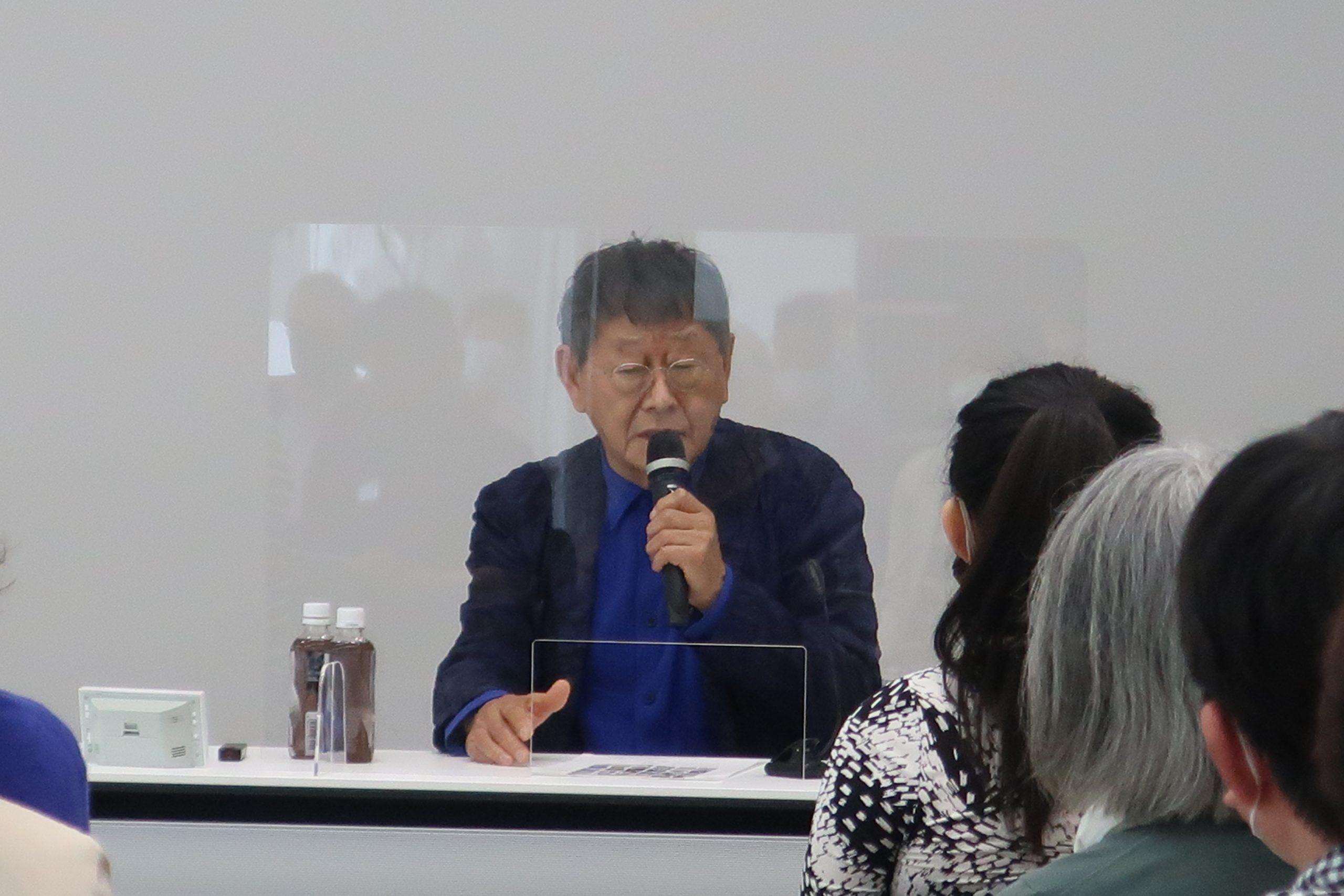ARCレクチャー「安田侃 彫刻を語る」